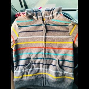 Carters 18 month sweater with hood